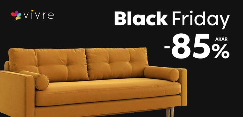 Vivre Black Friday akár 85% kedvezménnyel