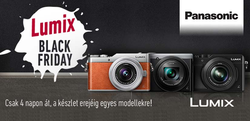 Panasonic Black Friday a Fotoplus-nál