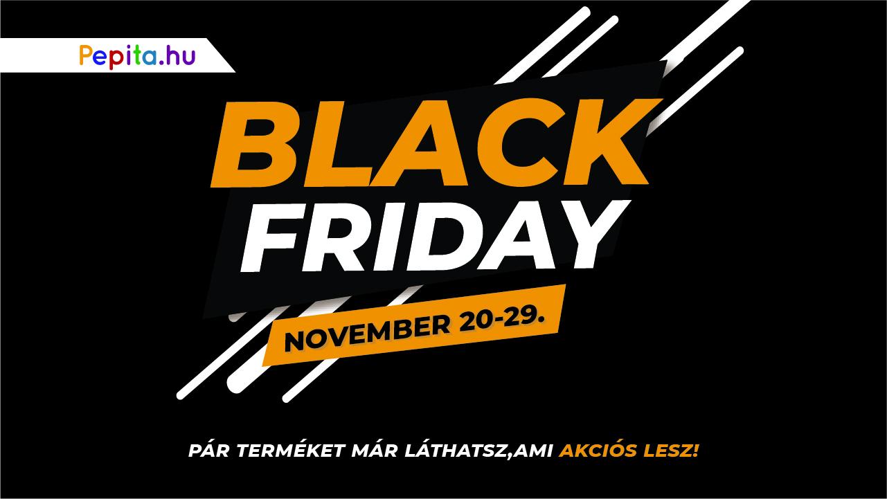 Black Friday a Pepita.hu oldalon