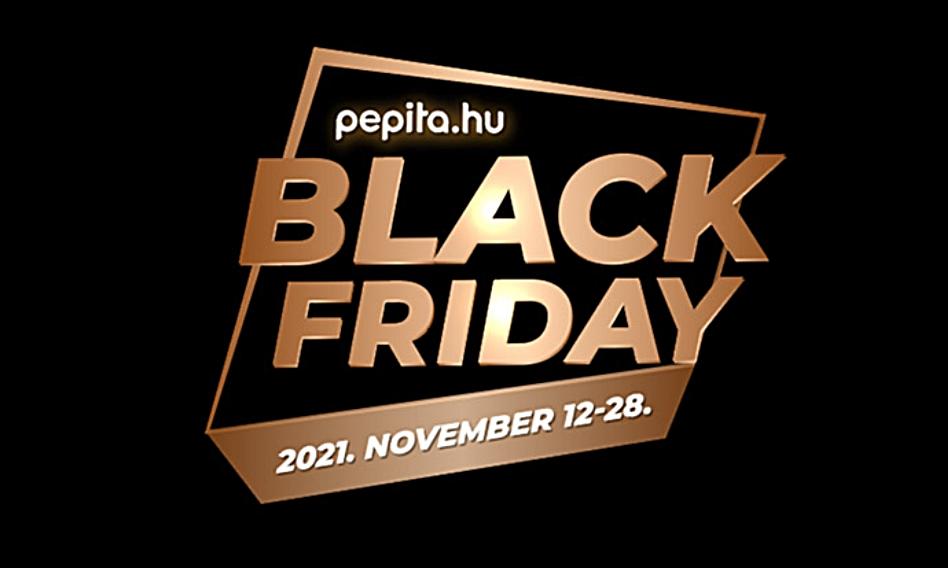 2021-ben is lesz black friday a pepita.hu oldalon